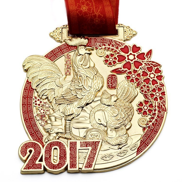 Chinese new year medals